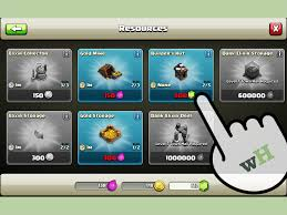 how to get gems in clash of clans with pictures wikihow