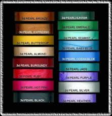 pearl car paint colors samples our new 17 colors of beautifulnail