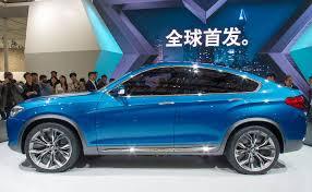 bmw x4 car bmw x4 concept premiere at shanghai auto 2013 china