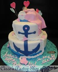 nautical baby shower cakes italian bakery fondant wedding cakes pastries and