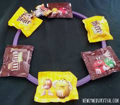 making a halloween wreath halloween project how to make a candy wreath booitforward cbias