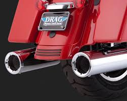 Vance And Hines Dresser Duals by Vance U0026 Hines Touring High Output Slip On Exhaust Chrome