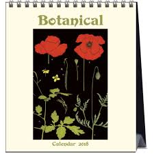 botanical calendars botanical prints 2018 easel calendar 9789463470773 calendars