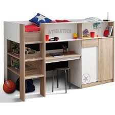 Sydney Bunk Bed Battle Mini Sleeper Bunk Bed Work Station Furniture