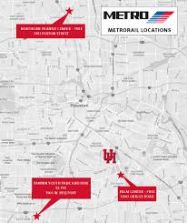 Smu Campus Map Campus Parking On Game Day University Of Houston