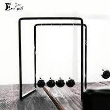 Aliexpress Com Buy Simple Newtons Cradle Cool Metal Ball