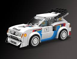 peugeot 206 turbo lego ideas peugeot 205 turbo 16 lego speed champions