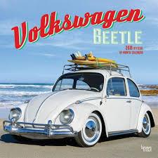 volkswagen beetle 9781465088284 volkswagen beetle 2018 wall calendar browntrout