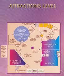 Las Vegas Casino Map Luxor Las Vegas Map Map Of Luxor Las Vegas United States Of