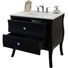 Black Distressed Bathroom Vanity 18 Inch Deep Bathroom Vanity Wayfair