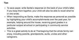 the easiest way for your child to get a letter from santa this