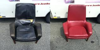 How To Reupholster A Leather Ottoman Reupholster Chair Leather Upholstery Sleeper Chair Bed