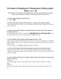 tikki tikki tembo worksheets orbiting jupiter six weeks of questions by tpt