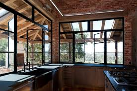 New Model House Windows Designs How To Make A Strong And Firm Statement With Black Framed Windows