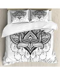 tattoo bedding queen get this amazing shopping deal on henna king size duvet cover set