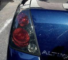 nissan altima tail light cover 2002 2006 nissan altima taillights pre cut tint covers 2005 2006
