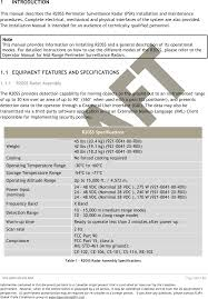 r20 ranger radar user manual flir radars inc
