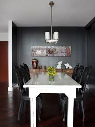 White Dining Table With Black Chairs Photo Page Hgtv
