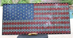 A American Flag Pictures Just An American Flag Made Outta Bottle Caps Imgur