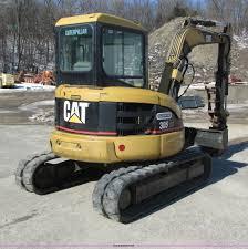 2005 caterpillar 305cr mini excavator item i4197 sold m