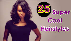 cool hairstyles for black women with short medium long weave
