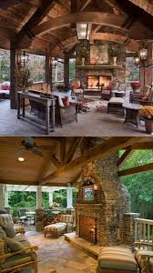 66 best outdoor porches fireplaces and kitchens images on