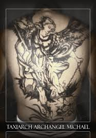 st michael tattoo the high end of low shoulder tattoo tattoomagz
