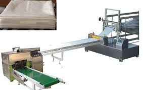auto large scale agricultural bed sheet folding machine