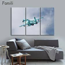 Wall Art Paintings For Living Room Online Get Cheap Airplane Wall Art Aliexpress Com Alibaba Group