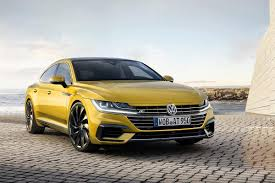 volkswagen van 2018 first look 2018 volkswagen arteon ny daily news