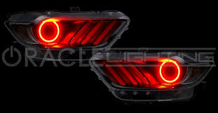 halo rings red images 2015 2017 ford mustang halo led headlight kits jpg