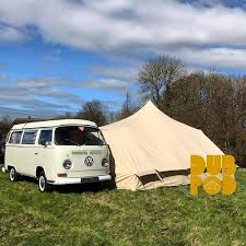 Small Campervan Awnings Dubpod Drive Away Camper Van Canvas Awning U2013 Bell Tent Boutique