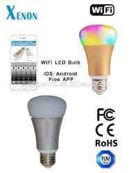 alexa controlled light bulbs xenon wifi bulb rgb led works with amazon alexa automation