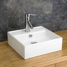 White Drop In Bathroom Sink Cozy Design Square Bathroom Sink Ceramic Kraususa Com Sinks Drop