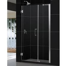 44 Shower Door by Bathroom 55x72 Dreamline Hinged Frameless Shower Door Exclusive