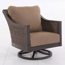Swivel Wicker Patio Chairs by Royal Garden Biscay Aluminum And Wicker Patio Swivel Lounge Chair