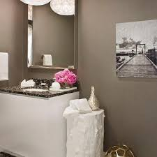 Powder Room Powell Ohio - modern powder room pendant design ideas