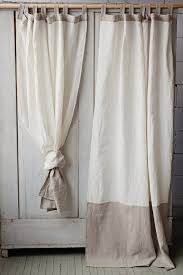 linen curtain panel in two colours u2013 magiclinen