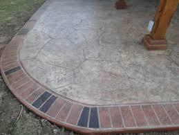Decorative Concrete Patio Contractor Decorative And Stamped Concrete Patios In Dallas Plano And