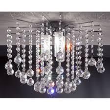 Crystal Light Fixtures Bathroom by Fl2139 3 Bathroom Crystal Chandelier Ip44