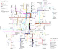Metro Viena Map by Vci2007 Public Transport In Vienna