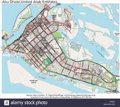 United Arab Emirates Map Abu Dhabi United Arab Emirates Country City Island State Location