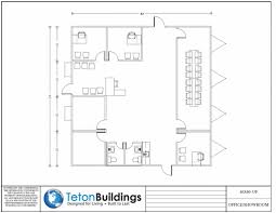 Floor Plan For 30x40 Site by 100 House Plans 40x40 Ranch House Plan 94182 Total Living