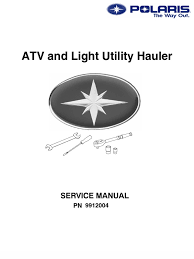polaris atv service manual repair 1985 1995 all models