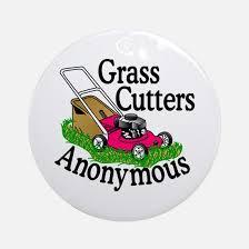 lawn mower ornament cafepress