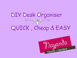 Cheap Desk Organizers by Diy Desk Organizer Cheap Quick U0026 Easy Youtube