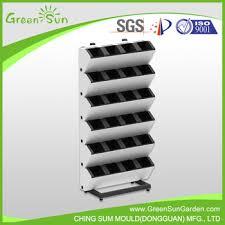 atractive garden vertical planter living wall green wall plastic