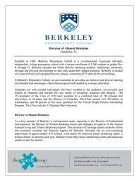 of alumni search berkeley preparatory school director of alumni relations search by