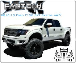 ford raptor lifted fabtech makes it outlaw is offering it 4 suspension lift what