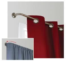 Window Curtains Rods Oriel Wrap Decorative Bay Window Curtain Rod Curtain U0026 Bath Outlet